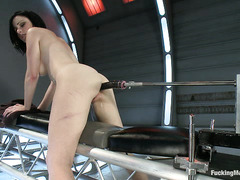 Veruca James takes on the biggest fucking machines she can find