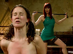 Pain queen Bonnie Day welcomes Maitresse Madeline' hardest punishments