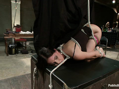 Brandy Aniston is a humiliation slut who is used by the public
