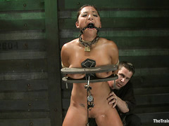 Adrianna Luna's last day of slave training is pure and utter torture