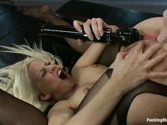 Jessie Volt experiences a number of orgasms with these fucking machines