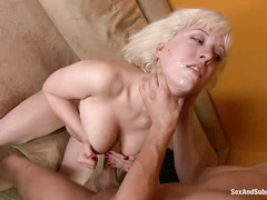 Cherry Torn is a good little housewife to her BDSM-loving hubby