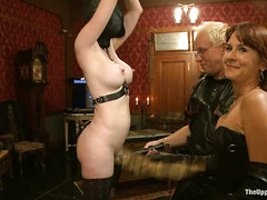 Slave girl rosie has a breakdown during her intense initiation