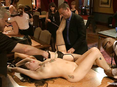 A few of the House's slaves are put to the ultimate test