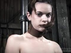 The lovely Hazel Hypnotic continues her marathon BDSM session