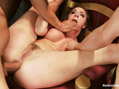 Hot princess Chanel Preston is gangbanged in a not-so-fairy tale way