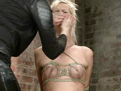 Tough cookie Tara Lynn Foxx crumbles under Mistress Claire's attention