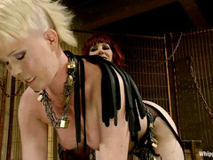 Eager submissive Sasha Knox bows down to the talented Maitresse Madeline