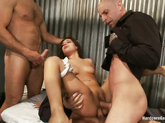 There's an epic, dirty gangbang waiting for Jynx Maze in prison