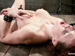 Party girl Audrey Hollander continues her grueling slave lessons