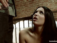 Anissa Kate becomes a sex toy for the rough and horny James Deen