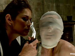 Missy Minx becomes a plaything for lesbians Felony and Maitresse Madeline