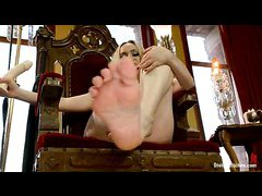Aiden Starr commands you to service her feet in this POV adventure