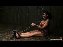 Beretta James experiences double penetration during punishment