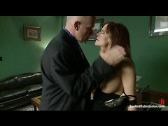 MILF Syren de Mer is tied up and punished by her husband Mark Davis