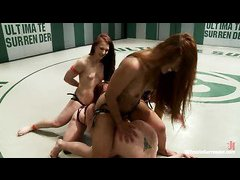 Ultimate loser Darling gets the ultimate gangbang from her teammates