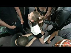 Blondie Riley Reid is punished and disgraced in public