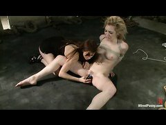 Princess Donna has a load of shocking fun with Lily LaBeau