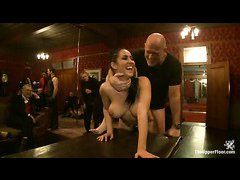 The sexy slaves celebrate a birthday with punishments and orgasms