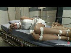Naive nurse Lia Lor gets taken advantage of by a rough prisoner