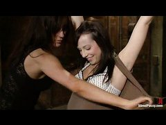Lindy Lane quivers as Princess Donna uses electricity on her soft body