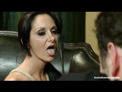 Ava Addams is tied up and fucked hard by a massive dick
