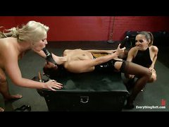 It's total anal domination for hotties Phoenix Marie and Cassidey