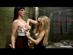 Lorelei Lee and Aiden Starr initiate Nerine Mechanique