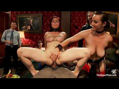 Slave beauty Penny Pax gets her ass and mouth filled with cock