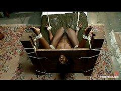 Naughty nun Ana Foxxx is punished a stern, sadistic Chanel Preston