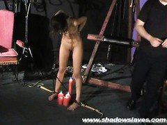 Sahara Knite nude whipping in indian bdsm of GOT pornstar tied at www.ShadowSlaves.com