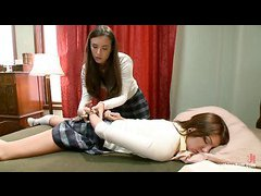 College sweetie Cassandra Nix gets anally punished by Casey Calvert