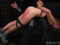 Tracey Sweet bound and humiliated in some hot exercises session