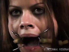 Naughty chick learns the joys of sensual whipping and restrained pleasure