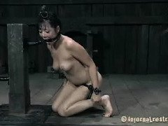 Sexy Asian darling needs raucous and wild retribution from demanding master