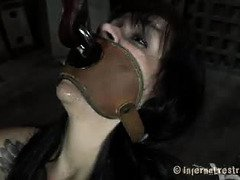 Master wants sweet slave to suck cock without breathing until he releases her