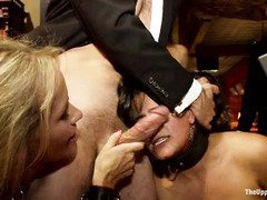 Breathtakingly beautiful and subservient slaves are brought in to serve the house
