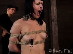 Katharine Cane receives hardcore caning disciplining from mistress Rain Degrey