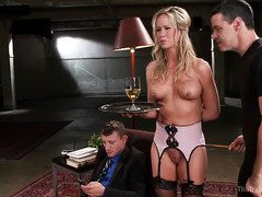 Master will have every right to punish mature blonde slave if she forgets the rule