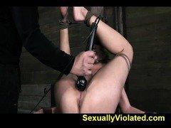 tits endure gauntlet of deep throating 2