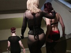 Maitresse Madeline gets a taste of hardcore domination from legandary Nina Hartley
