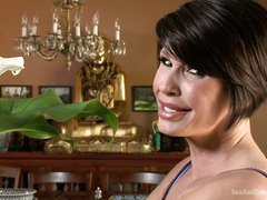 Lola Foxx and her mum receive deep fucking punishment from lusty boyfriend Mr.Pete
