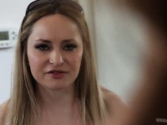 Bridal punishment for Cherie Deville as she suffers from an all girl gangbang revenge