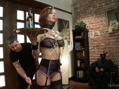 Enticing slave must learn to serve in accordance to the lusty laws of the house