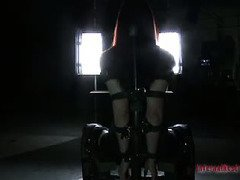 Sexy siren gets her intense bondage fantasy realized from master's skillful torments