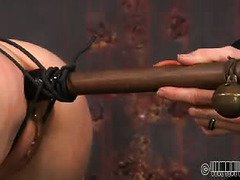 Fear factor is introduced into sweet babe's lusty and uncouth punishment