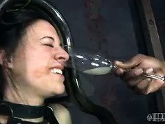 Lovely babe endures closed to seven hours of revolting and painful punishment