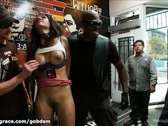 Babe must not irked master's anger or she must suffer from a very public punishment