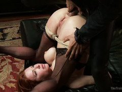 Compilation of charming and alluring slave milfs getting deep anal training