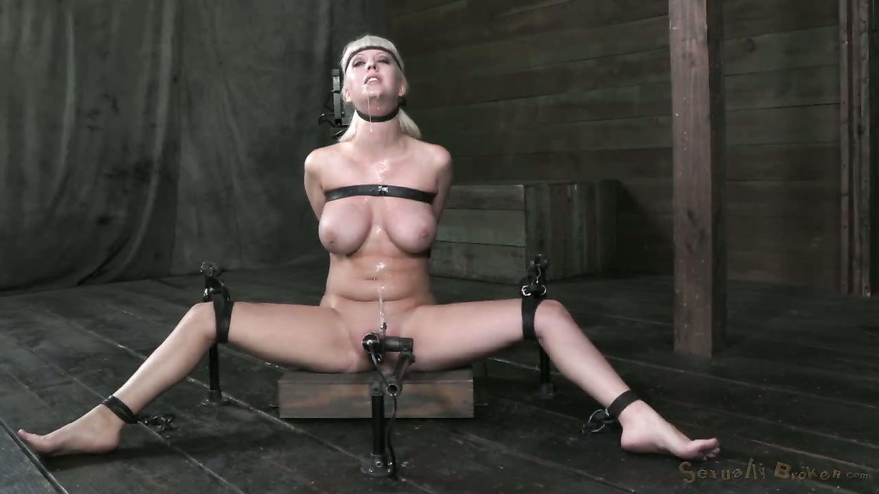 Breast bondage porn